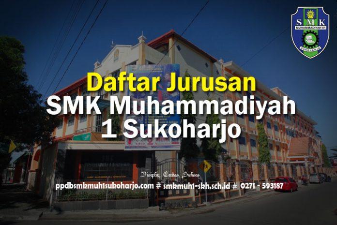 Daftar Jurusan Di SMK Muhammadiyah 1 Sukoharjo Kompetensi Keahlian