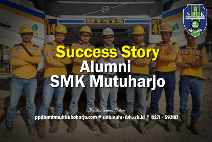 Success Story ALumni SMK Muhammadiyah 1 Sukoharjo SMK Mutuharjo CoE
